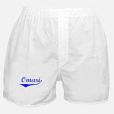 Omari Vintage (Blue) Boxer Shorts