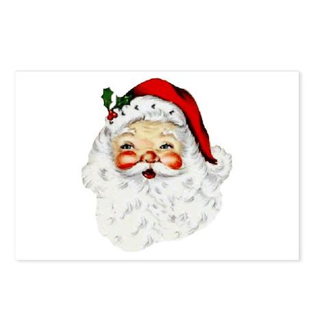 Santa Claus Postcards (Package of 8)