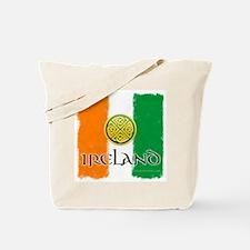 Celtic Ireland Flag Tote Bag