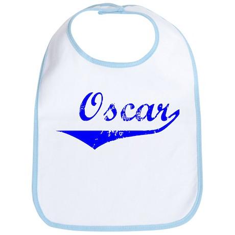 Oscar Vintage (Blue) Bib