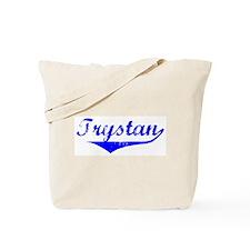 Trystan Vintage (Blue) Tote Bag