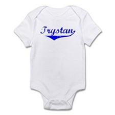 Trystan Vintage (Blue) Infant Bodysuit