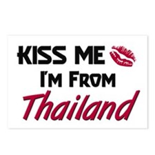 Kiss Me I'm from Thailand Postcards (Package of 8)