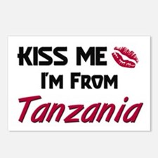 Kiss Me I'm from Tanzania Postcards (Package of 8)