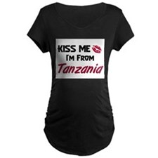 Kiss Me I'm from Tanzania T-Shirt