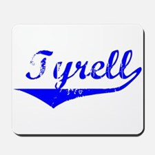 Tyrell Vintage (Blue) Mousepad