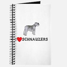 I Love Schnauzers Journal