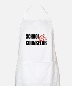 Off Duty School Counselor BBQ Apron