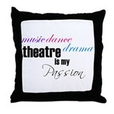 Acting Throw Pillows