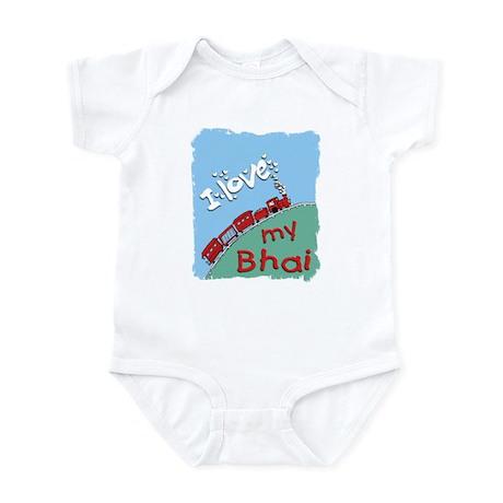 Train-Bhai Infant Bodysuit