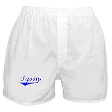 Tyson Vintage (Blue) Boxer Shorts
