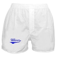 Ulises Vintage (Blue) Boxer Shorts