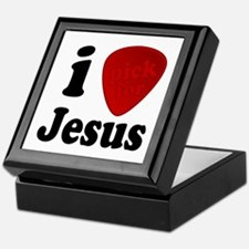 I Pick For Jesus Guitar Pick Keepsake Box