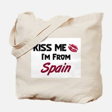 Kiss Me I'm from Spain Tote Bag