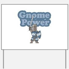 Gnome Power Yard Sign