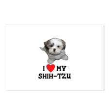 I Love My Shih-Tzu Postcards (Package of 8)