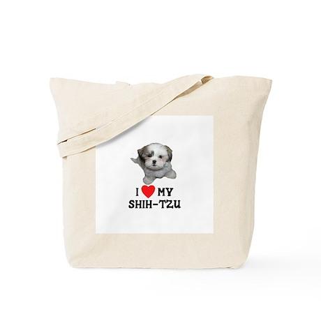 I Love My Shih-Tzu Tote Bag
