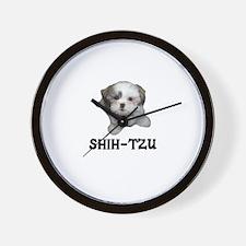 Shih-Tzu Wall Clock