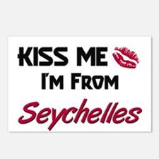 Kiss Me I'm from Seychelles Postcards (Package of