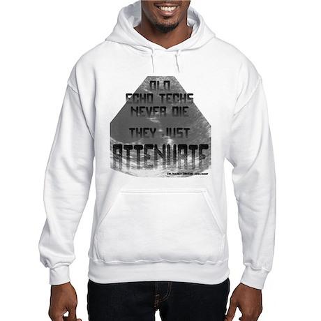 Old Echo Techs Never Die Hooded Sweatshirt