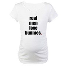 Real Men love bunnies Shirt