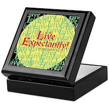 Live Expectantly Keepsake Box