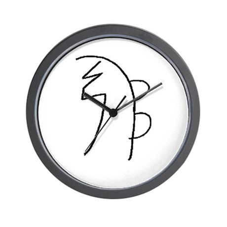 Se-he-ki (Mrs. Takata Hand Drawn) Wall Clock