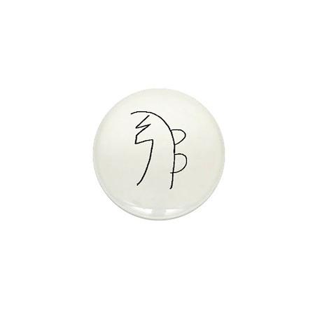 Se-he-ki (Mrs. Takata Hand Drawn) Mini Button (100