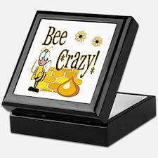 Bee Crazy Keepsake Box