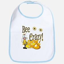 Bee Crazy Bib