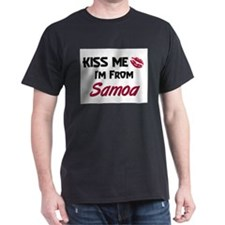 Kiss Me I'm from Samoa T-Shirt