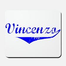 Vincenzo Vintage (Blue) Mousepad