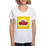 Salsa-2 Women's V-Neck T-Shirt