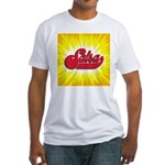 Salsa-2 Fitted T-Shirt