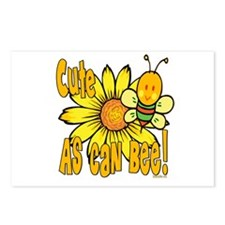 Cute As Can Bee Postcards (Package of 8)