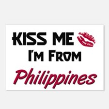 Kiss Me I'm from Philippines Postcards (Package of