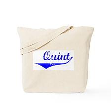 Quint Vintage (Blue) Tote Bag
