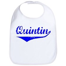 Quintin Vintage (Blue) Bib