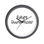 Future Quartermaster Wall Clock