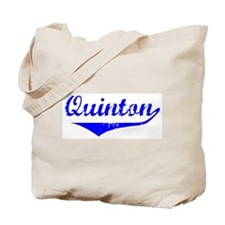 Quinton Vintage (Blue) Tote Bag