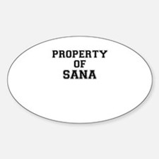 Property of SANA Decal