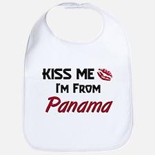 Kiss Me I'm from Panama Bib