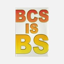 BCS is BS Rectangle Magnet