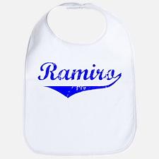 Ramiro Vintage (Blue) Bib