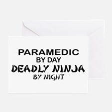 Paramedic Deadly Ninja Greeting Cards (Pk of 10)