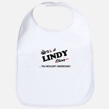 LINDY thing, you wouldn't understand Bib