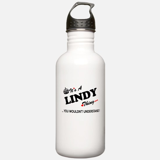 LINDY thing, you would Water Bottle