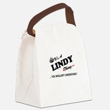 LINDY thing, you wouldn't underst Canvas Lunch Bag