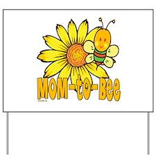 Mom-To-Bee Yard Sign