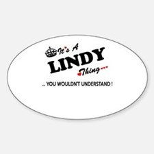 LINDY thing, you wouldn't understand Stickers